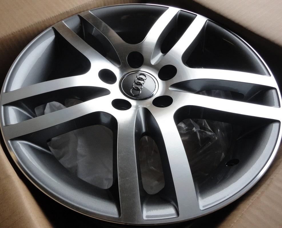 DISKI Audi 5x112 R16 (Grey polished)