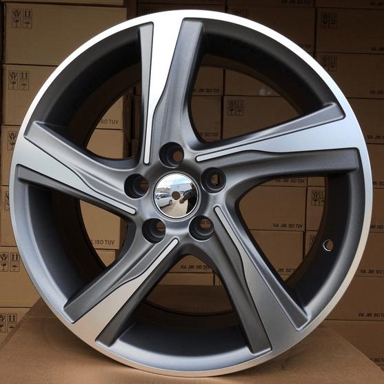 DISKI Volvo 5x108 R16 (Grey polished)