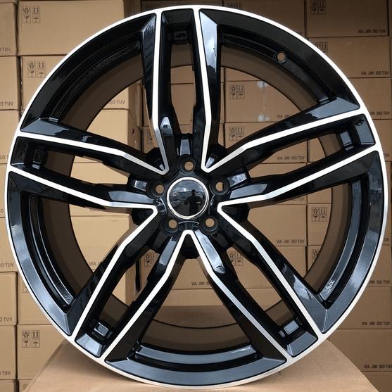 DISKI Audi 5×112 R17 (Black polished)