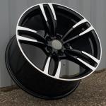 DISKI BMW 5×120 R19 (Black polished) (Rear+Front)