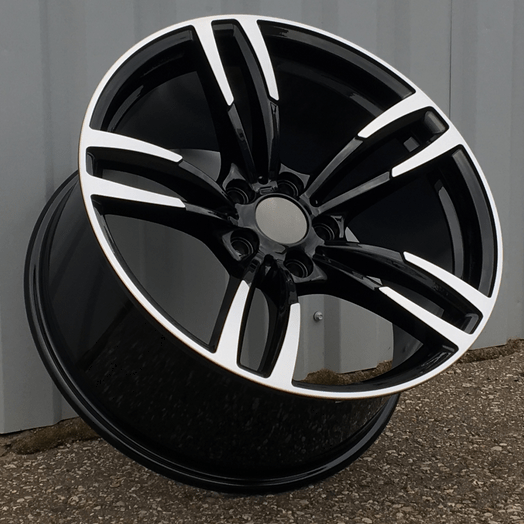 DISKI BMW 5×120 R19 (Black polished) (Rear+Front)