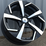 DISKI Nissan R17 5×114.3 (Black polished)