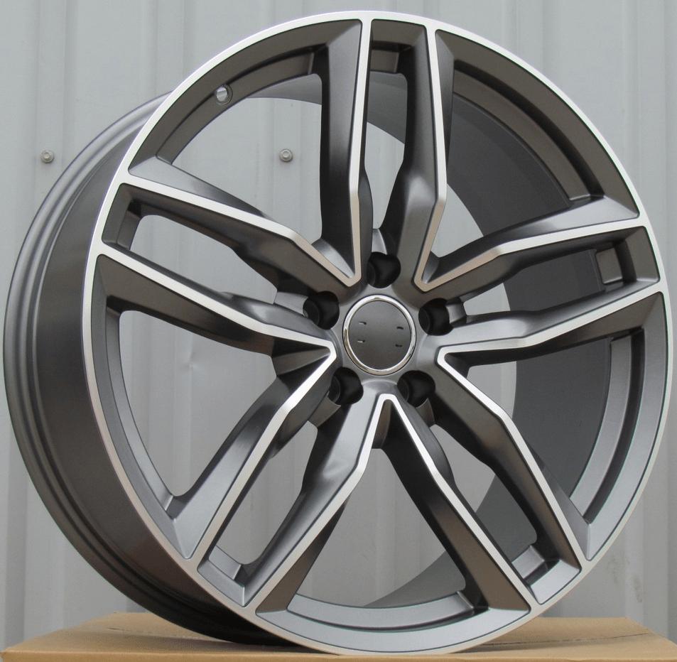 DISKI Audi 5×112 R18 (MG half matt)