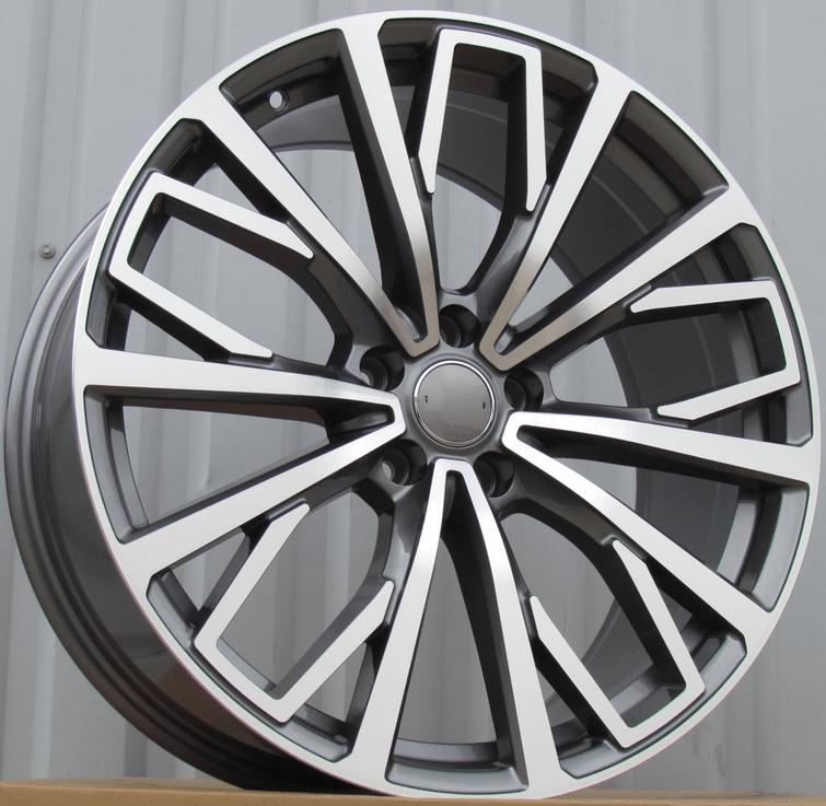 DISKI Audi 5×112 R18 (Grey polished)