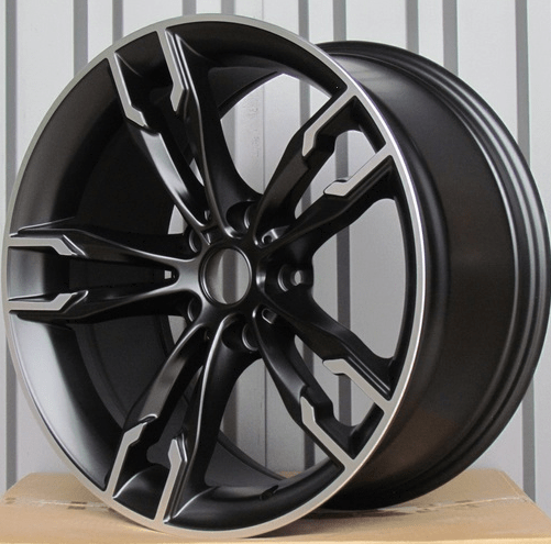 DISKI Racingline BMW 5×120 R17 (Black polished)