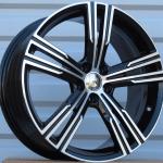 DISKI Volvo 5×108 R17 (Black polished)