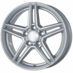 Diski R17 5×112 J7.5 ET53 Alutec M10X Silver