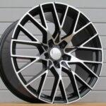 Diski R18 5×112 J8 ET27 Racingline BMW Black Polished