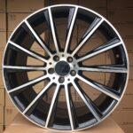 Diski R19 5×112 J9.5 ET51 Racingline MER Black Polished