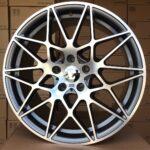 Diski R19 5×120 J8.5 ET37 Racingline BMW Grey Polished