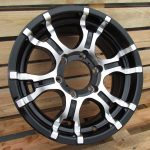 Diski R16 6×139.7 J7 ET10 Racingline 4X4 Black Polished