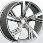 Diski R18 5×112 J8 ET38 Racingline Audi Grey Polished