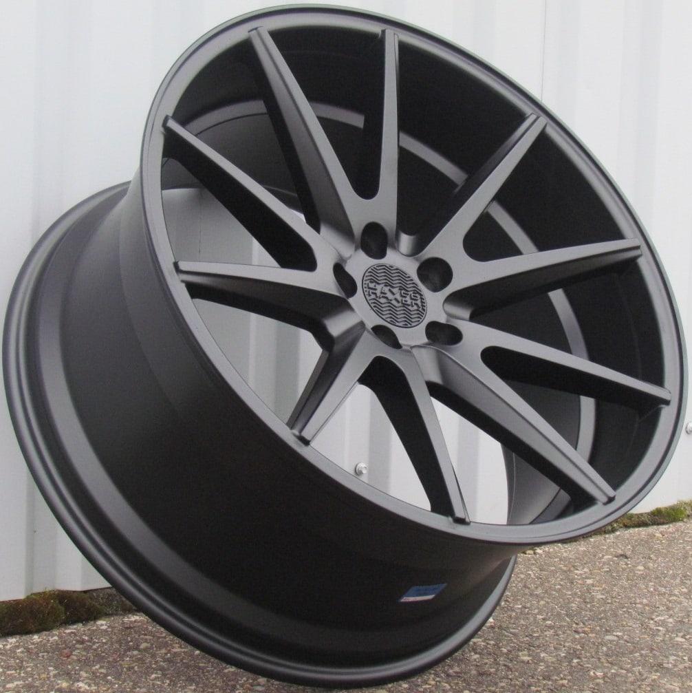 DISKI Haxer 5×112 R17 (Black half matt)