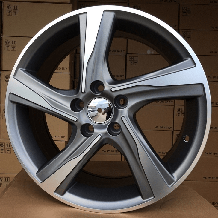 DISKI Racingline Volvo 5×108 R18 (Grey polished)