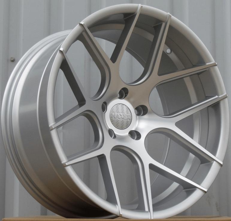 DISKI Haxer 5×120 R18 (Silver shining) 2+2