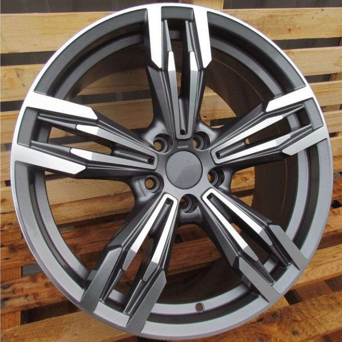 DISKI Racingline BMW 5×120 R18 (Grey polished)