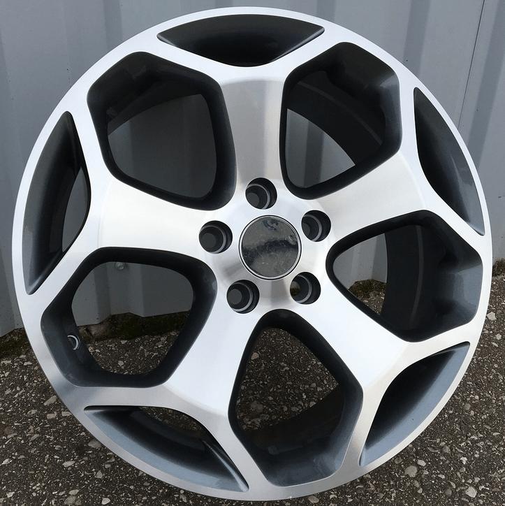 DISKI Racingline Ford 5×108 R17 (Black polished)