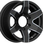 Diski R16 6×139.7 J8 ET15 Racingline 4X4 Black Polished