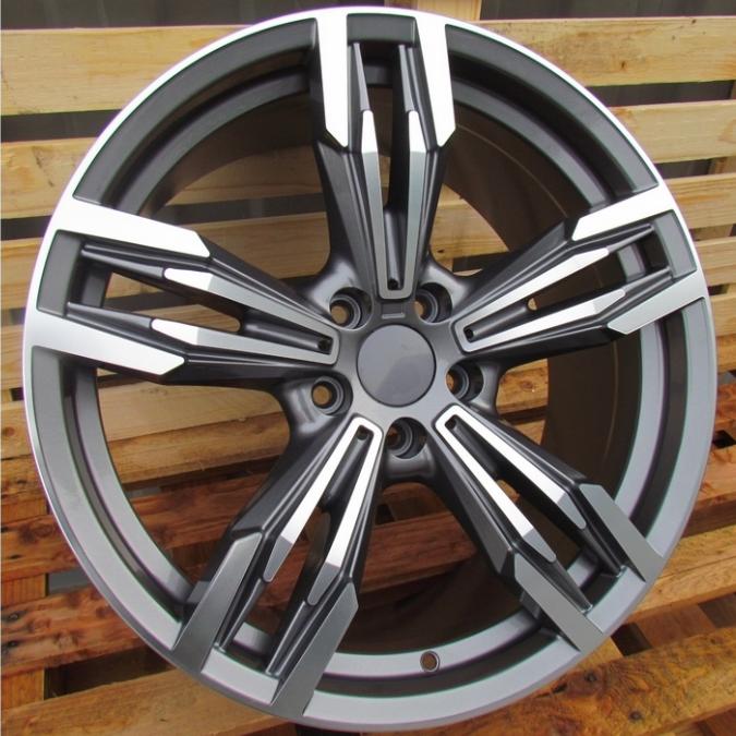 DISKI Racingline BMW 5×120 R17 (Grey polished)